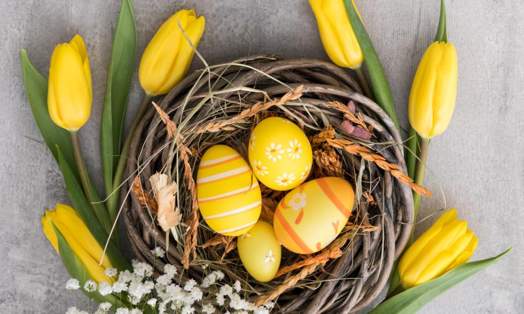 Spokojnych Świąt Wielkanocnych!